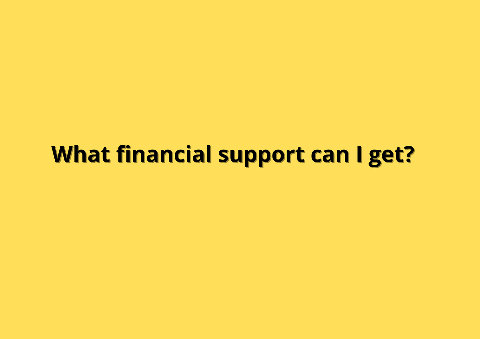 Financial Support - Covid