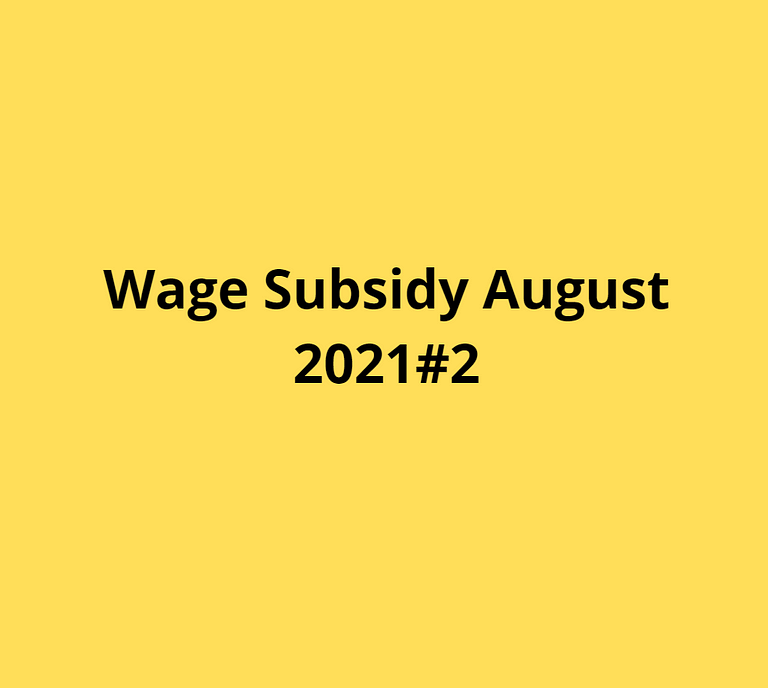 Wage Subsidy 2