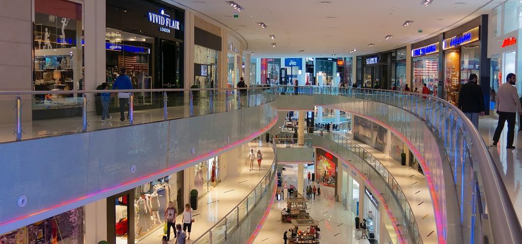 shopping centre - retail plumbing concept